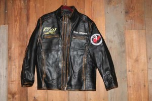 Paycheck Black Front with Patches