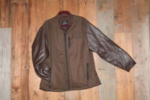 Soft Shell leather Sleeve Brown 2