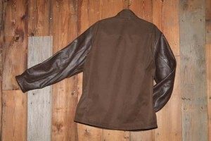 Soft Shell leather sleeve 1